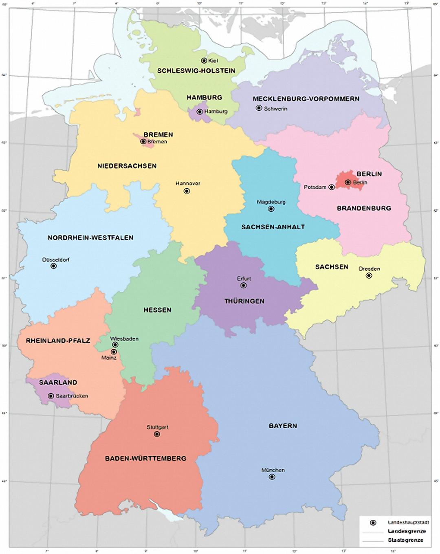 Deutschland Größe