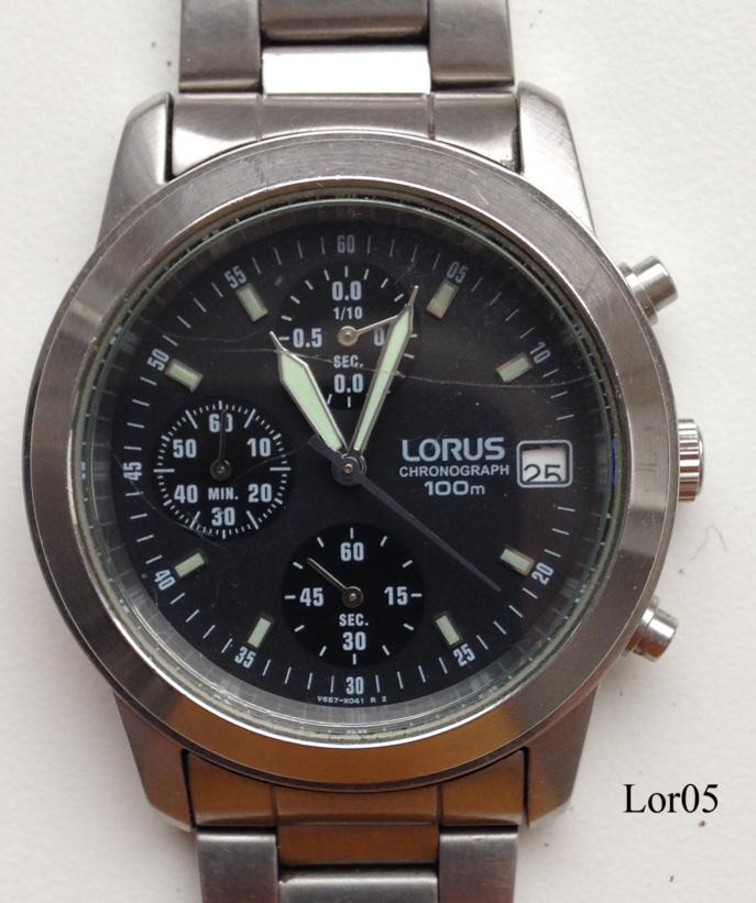 lorus water resistant 10 bar instructions