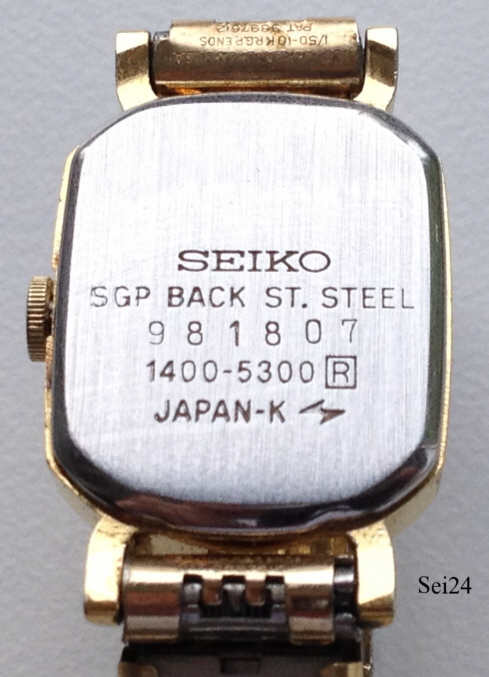 Reloj Seiko Sgp St Steel Back