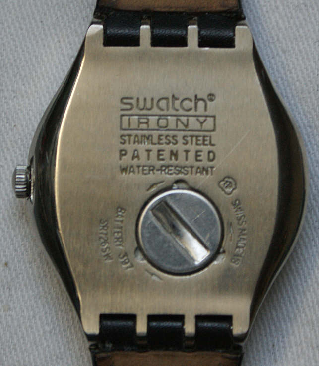 how to change swatch battery